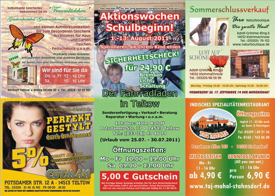 Aktionsflyer Nr 07/11 Innen